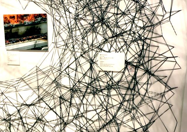 塩田千春「静けさの中で」